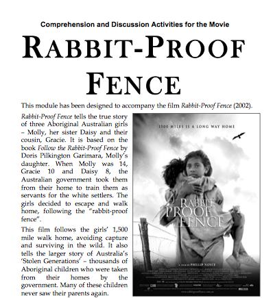 rabbit proof fence essay belonging